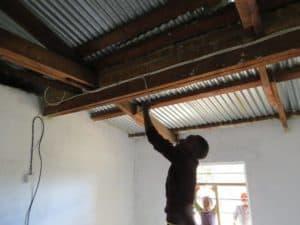 Pojkarnas sovhus även det utrustad med solpanel.